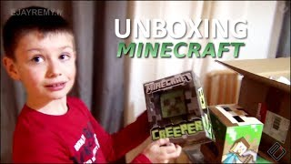 MINECRAFT MEGA COLIS SURPRISE 😃 Unboxing Family Geek