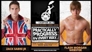 FREE MATCH! Zack Sabre Jr vs Flash Morgan Webster (WWE Cruiserweight Classic Qualifying Match)