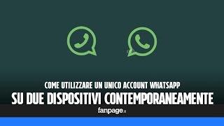 getlinkyoutube.com-Utilizzare WhatsApp su due dispositivi contermporaneamente