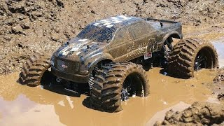 getlinkyoutube.com-RC ADVENTURES - Muddy Monster Truck & Smoke Show - Chocolate Milk & a Slice of Mud