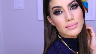 getlinkyoutube.com-2016 Versatile Party Makeup | Smokey Eye | Makeup Tutorials and Beauty Reviews | Camila Coelho
