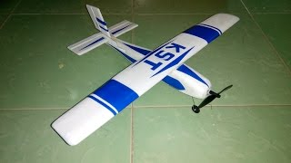 getlinkyoutube.com-[Tutorial] DIY - How to make airplane RC - airplane remote control