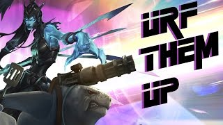 getlinkyoutube.com-URF Them Up with Kalista - Safe in my Womb (Ultra Rapid Fire Mode)