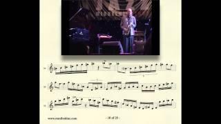 getlinkyoutube.com-Remi Bolduc transcription : Michael Brecker solo on Naima New Sound