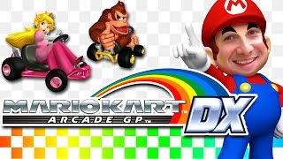 getlinkyoutube.com-MARIO KART Grand Prix DX - Arcade Video Game