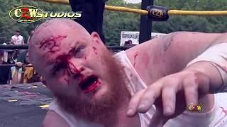 getlinkyoutube.com-CZW Tournament of Death 14: Matt Tremont vs. Josh Crane (CZWstudios.com)  Pits & Strips Match