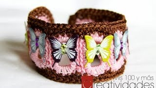 "getlinkyoutube.com-Tutorial Brazalete ""Inspiracion"""