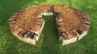 How To Build Beautiful Self-Sufficient Gardens For Any Climate: Keyhole Gardens | Amazing Earth