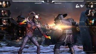 getlinkyoutube.com-Mortal Kombat X: Unplayable Character Meshes/ IOS & Android