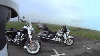 getlinkyoutube.com-Harley Davidson Ride Out on 2014 Ultra Limited and Road King
