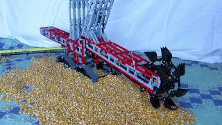 getlinkyoutube.com-Lego bucket wheel excavator MOC
