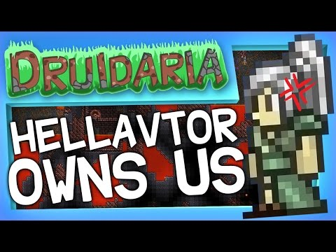 Terraria #9 - The Hellevator Owns Us