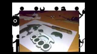 getlinkyoutube.com-как сделать кастет , как  быстро  сделать кастет