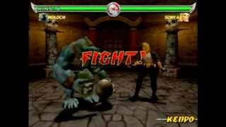 getlinkyoutube.com-Mortal Kombat Deadly Alliance Moloch Gameplay