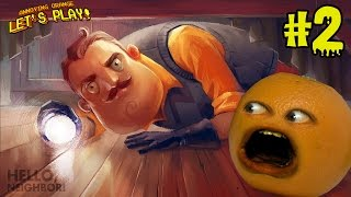 getlinkyoutube.com-Annoying Orange Plays - Hello Neighbor #2