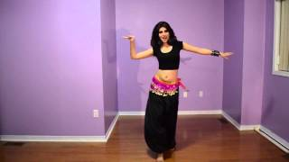 getlinkyoutube.com-تعليم الرقص الهندي في دقيقة واحدة
