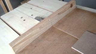 Serra de bancada caseira acessorios corte de 90 graus guia lateral,serra circular