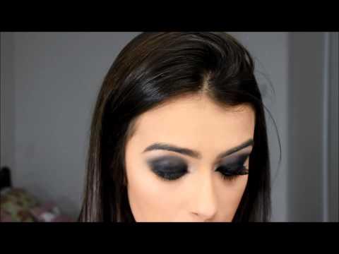 Aprendendo a fazer olho preto sem borrar por Mariana Saad