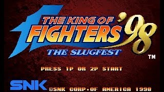 getlinkyoutube.com-The King of Fighters 98 (The Slugfest) - (Level 4 MVS Uma Ficha) - (Jogo Completo com o Trio do Kyo)