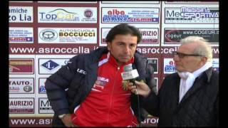 Roccella-Tiger Brolo 1-1. La soddisfazione a fine gara del tecnico Bellinvia