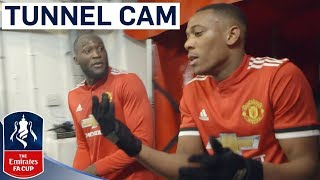 Inside Access at Old Trafford! | Extended Tunnel Cam | Man United vs Brighton | Emirates FA Cup