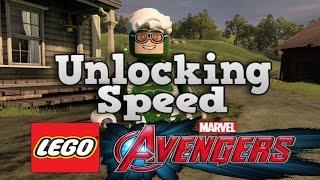 getlinkyoutube.com-LEGO MARVEL Avengers How To Unlock Speed, Like The Flash