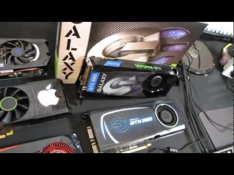 Galaxy GeForce GTX 680 2GB Video Card 1080p Performance Review Linus Tech Tips