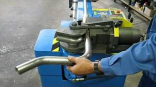 getlinkyoutube.com-TUBOBEND 48 - Semi-automatic pipe bending machine
