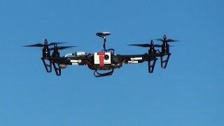 getlinkyoutube.com-Обзор квадрокоптера TBS Discovery + Naza GPS