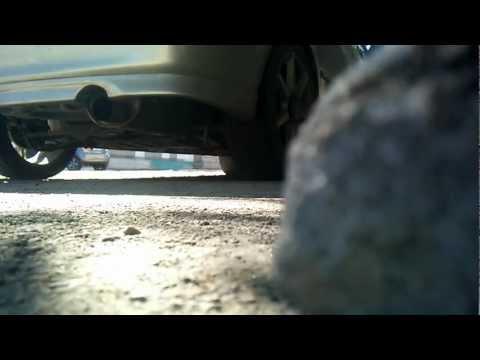 Mazda Familia с прямотоком