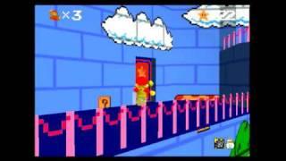 getlinkyoutube.com-Super Mario 64: Nes Textures