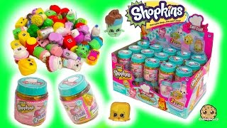 getlinkyoutube.com-Full Box Shopkins Season 6 Chef Club Surprise Blind Bag Mystery Jars - Toy Video