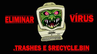 getlinkyoutube.com-Como Remover virus .Trashes $RECYCLE.BIN e Outros 2015