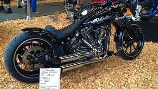 getlinkyoutube.com-Harley Davidson Breakout Custom Built by René (Germany)