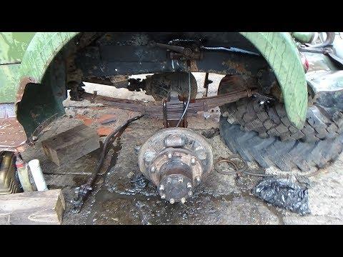 Перебираем передний мост на ГАЗ-63,часть третья,собираем и регулируем поворотный кулак.