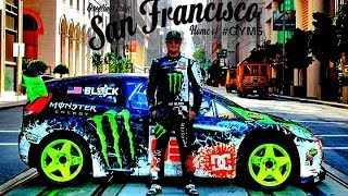 getlinkyoutube.com-Ken Block San Francisco Drift - dubstep  (2013 1080p HD)
