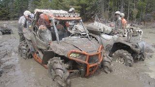 getlinkyoutube.com-St charles big bear rally Mud run - Rzr 1000 - Grizzly 700 - XMR 1000