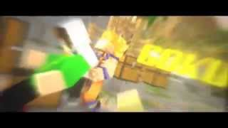 getlinkyoutube.com-Intro #29 || Goku || Minecraft Animation||