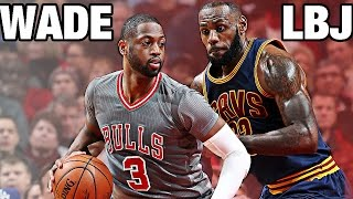 getlinkyoutube.com-LeBron James vs Dwyane Wade   CLE@CHI   12.02.2016