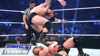 getlinkyoutube.com-Dolph Ziggler vs. Bad News Barrett – Royal Rumble Qualifying Match: SmackDown, January 22, 2015