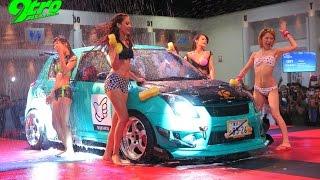 getlinkyoutube.com-Bikini Carwash @ Bangkok Auto Salon - Part 2