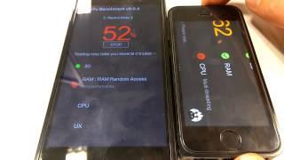 iPhone 5s vs Redmi Note 3 Antutu 7/50