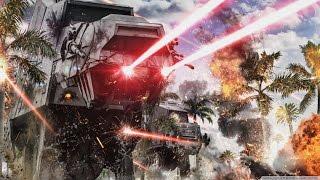getlinkyoutube.com-Star Wars Battlefront - Rogue One: Scarif DLC Walker Assault Gameplay (Rebels)
