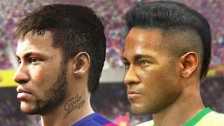 getlinkyoutube.com-FIFA 16 vs PES 2016 Face Comparison | Head to Head Faces (Gamescom)