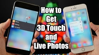 getlinkyoutube.com-How to Get 3D Touch and Live Photos on Older iPhones