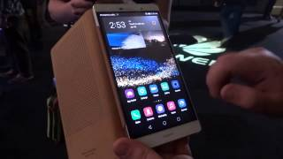 getlinkyoutube.com-Huawei P8 Max anteprima e confronto dimensioni con Apple iPhone 6 Plus