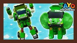 Tayo Rogi transforms as an elephane robot! l Tayo Rangers #9 l Tayo The Little Bus