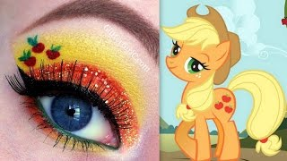 getlinkyoutube.com-My Little Pony's Applejack makeup tutorial