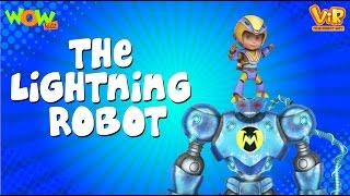 The Lightening Robot - Vir: The Robot Boy WITH ENGLISH, SPANISH & FRENCH SUBTITLES