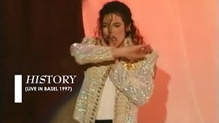 """Michael Jackson - """"HIStory"""" [live in Basel] (60fps)"""